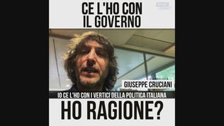 """Cruciani VS Governo: """"Più Rakitic, meno Spadafora"""""""