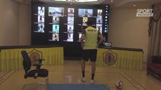 Qatar, allenamenti ad alta tecnologia