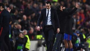 """Emery, ricordi e accuse: """"L'1-6 al Camp Nou? Uno dei miei si è nascosto"""""""