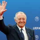 "Ligue 1, Aulas contro lo stop: ""Ci stiamo impiccando"""