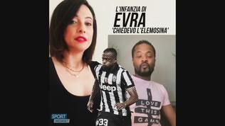 """L'infanzia di Evra: """"Chiedevo l'elemosina"""""""