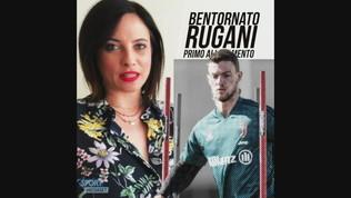 Bentornato Rugani: primo allenamento alla Continassa!