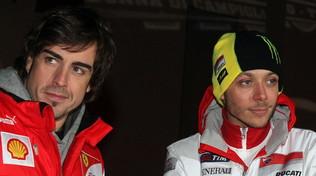 """Alonso chiama Valentino: """"Corri a Le Mans con me"""""""