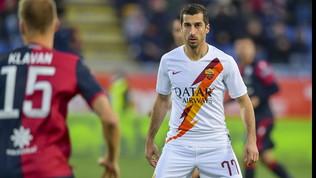 """Raiola frena la Roma: """"Nessun messaggio di Mkhitaryan all'Arsenal"""""""