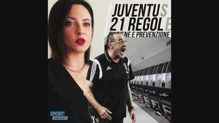 Juventus, 21 regole di igiene e prevenzione