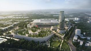 Nuovo stadio e riconversione di San Siro, ecco i progetti