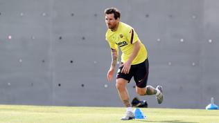 Il Barça torna ad allenarsiper la prima volta dopo 56 giorni