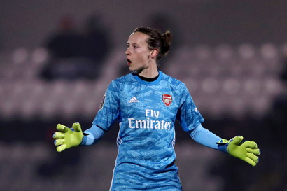 Pauline Peyraud-Magnin (Arsenal Women - Calcio)