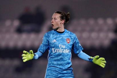 Pauline Peyraud-Magnin (Arsenal Women - Calcio)