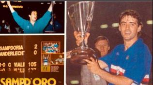 """Mancini ricorda la Coppa Coppe 1990: """"Grazie ragazzi"""""""