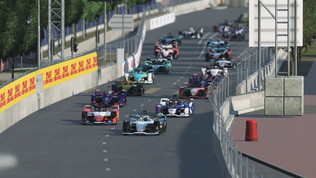Niente tris diGünther, Wehrlein vince la Race at Home di Monaco