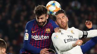 Clasico per la ripresa: Ramos vuole giocare, Piqué prende tempo