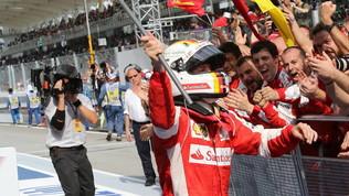 Vettel e la Ferrari tra gioie e delusioni
