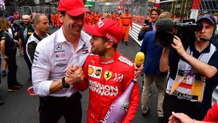 """Wolff  tentato  da Vettel: """"Non si può ignorare il suo addio"""""""