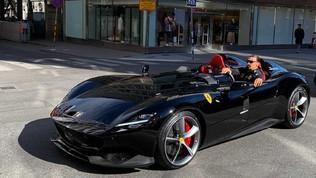"""""""Non si può"""". Ibra multato per la Ferrari guidata illegalmente"""
