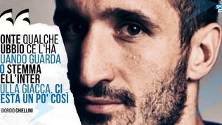 """Chiellini: """"Quando Conte guarda lo stemma dell'Inter ci resta un po' così"""""""