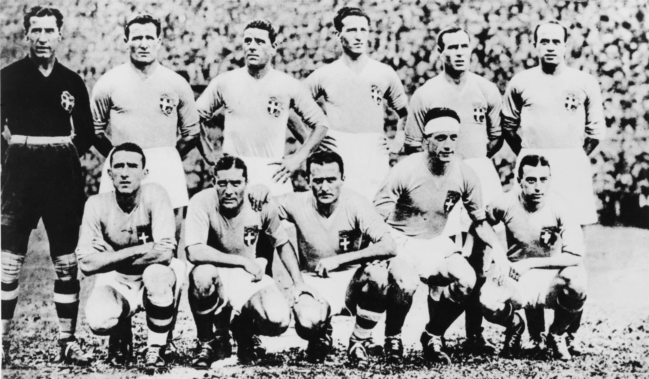 Durante i Mondiali 1934
