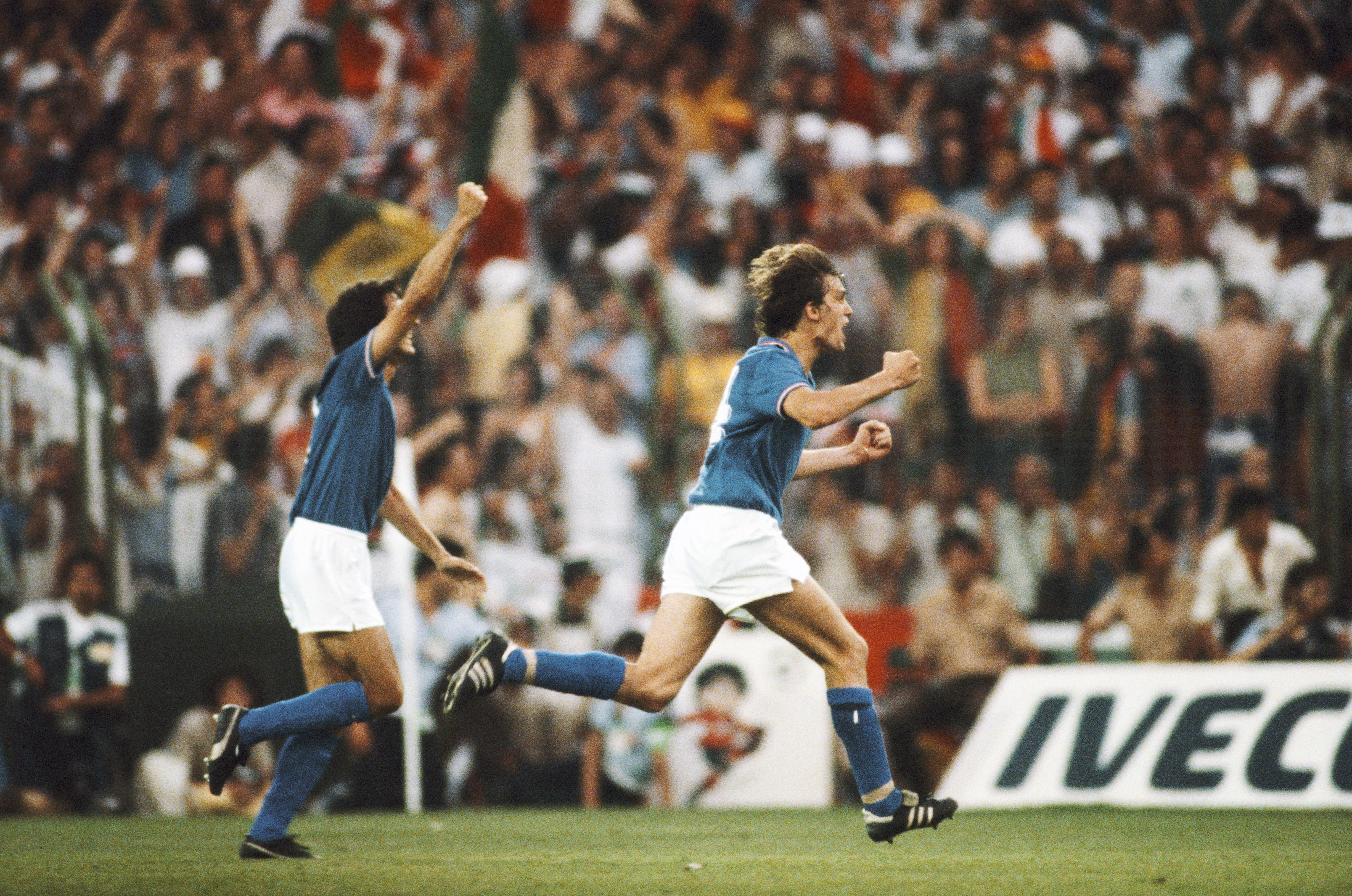 Il trionfo ai Mondiali 1982