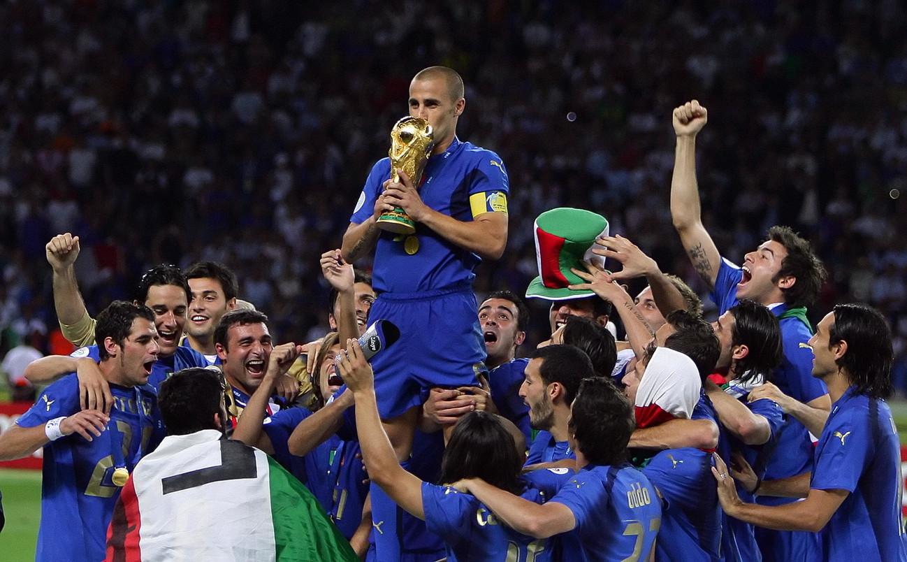 La vittoria ai Mondiali 2006