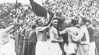 Nazionale, 110 anni di storia in foto