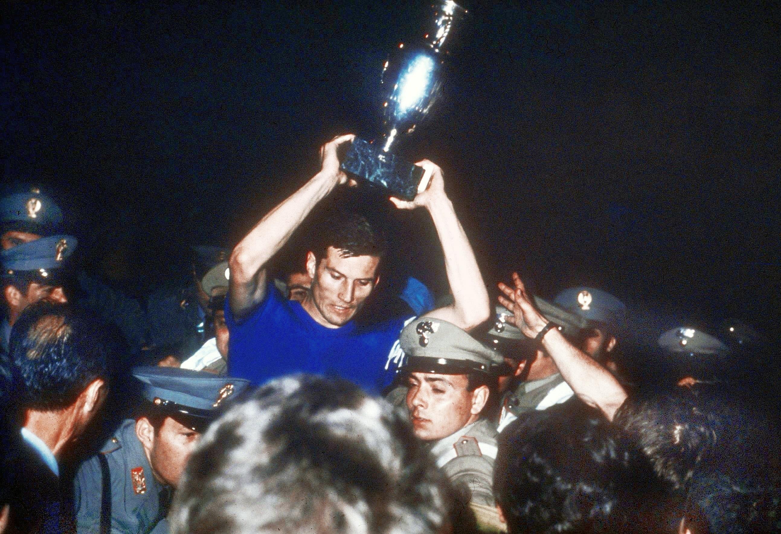 Nel 1968 il successo agli Europei