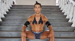 CR7 mostra i muscoli, due mesi di quarantena non lo hanno sfiorato