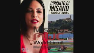 Misano: il circuito riapre a 13 piloti residenti in Emilia