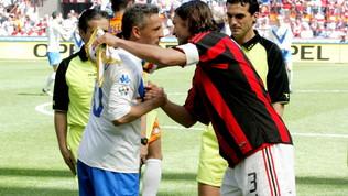 Addio al calcio di Roby Baggio, San Siro in piedi per il Divin Codino