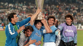 Napoli, nel 1989 la Coppa Uefa firmata Maradona-Careca