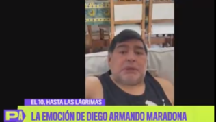 """Diego in lacrime: """"Aiutate la gente a mangiare, so cos'è la fame"""""""