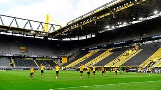 Dortmund, poker nel derby e saluto al (ex) Muro Giallo