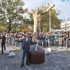 Ibra, la città di Malmoe pensa di trasferire la statua vandalizzata