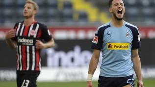 M'Gladbach implacabile: è sorpasso al Lipsia   Hertha travolgente