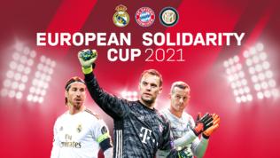 Inter, Real e Bayern in campo coi tifosi: una coppa per gli eroi