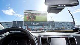 Porte chiuse? In Danimarca il Midtjylland apre lo stadio Drive-In