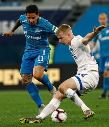 Roman Yevgenyev (Calcio - Dinamo Mosca)