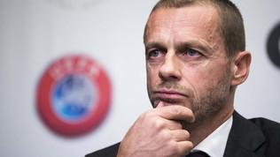 """Ceferin: """"Calcio coi tifosi tornerà presto, FPF? Ipotesi tassa sul lusso"""""""