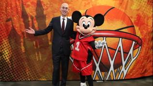NBA, il piano per ripartire: si giocherà solo a Disney World