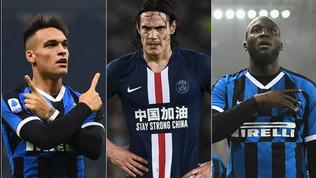 Conte disegna il suo attacco Champions: Lukaku, Cavani e... Lautaro