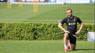 Ultimi test ok, l'Inter torna alla normalità: prima giornata di lavoro in gruppo