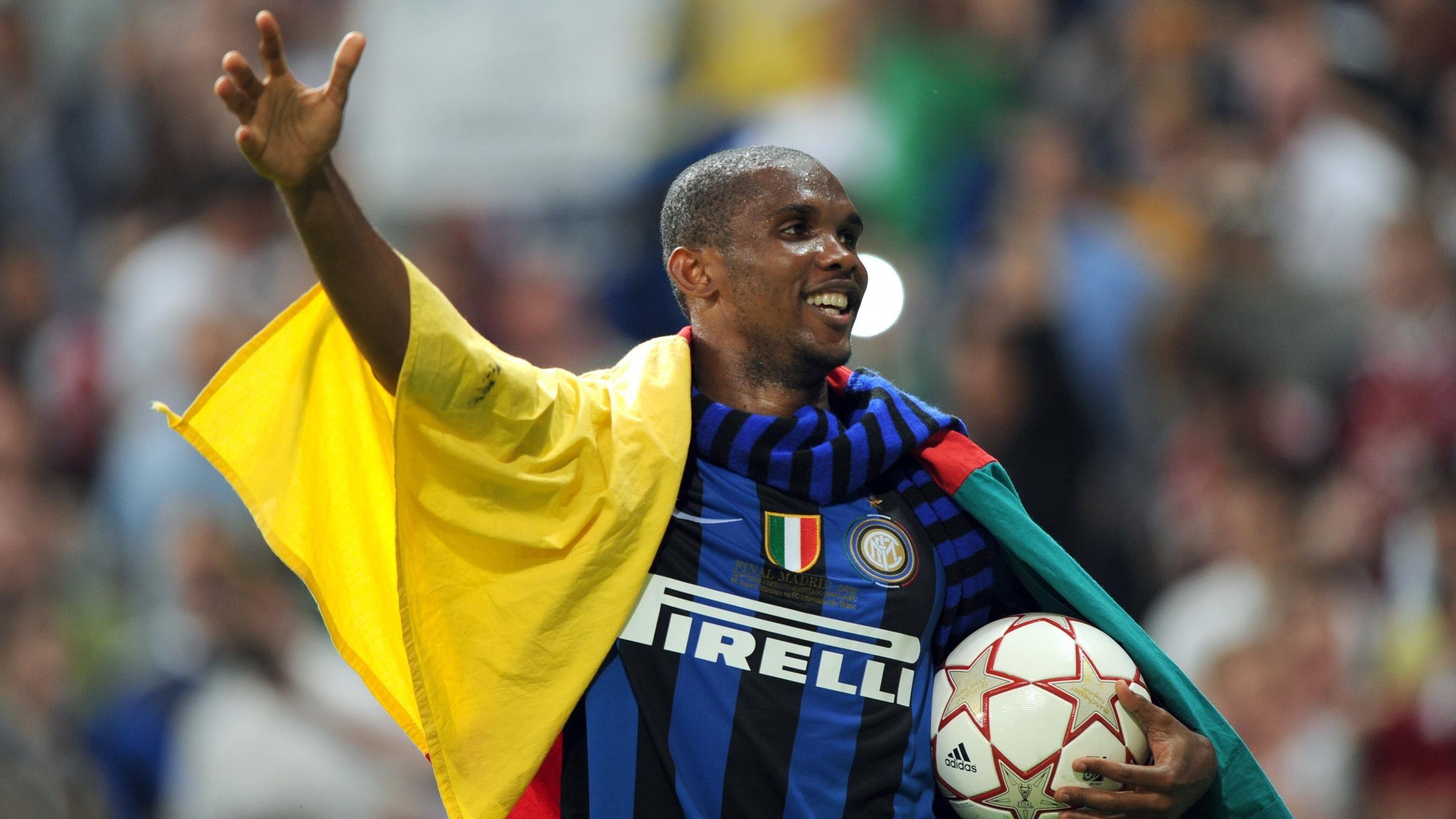 Una sola squadra italiana,l'Inter di Mourinho, e solo un giocatore capace di fare il bis: Samuel Eto'o