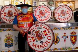 """Il tifoso Manolo, la Roja e il celebre tamburo: """"Costretto a venderlo"""""""