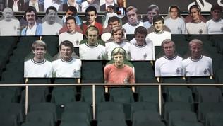 M'Gladbach, anche la squadra dello scudetto 1970 sugli spalti