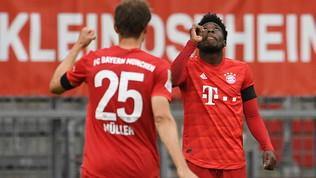 Bayern Monaco travolgente: 5-2 all'Eintracht, Dortmund sempre a -4