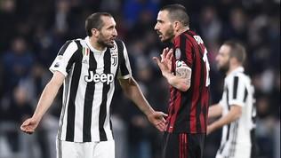 """Chiellini: """"Bonucci al Milan? Non era lucido. Avrei capito il Real..."""""""