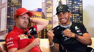 """Bernie benedice la super-coppia:""""Vedrei bene Vettel con Hamilton"""""""
