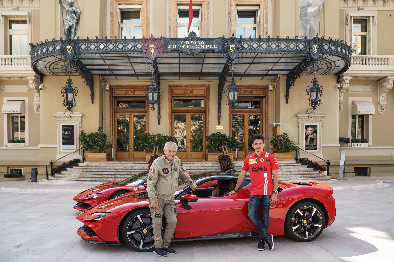 Il pilota del Cavallino e la supercar di Maranello protagonisti di un cortometraggio<br /><br />