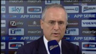 Allusioni su Juve-Inter: Lotito rischia il deferimento