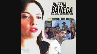 Banega, party e assembramento: è polemica