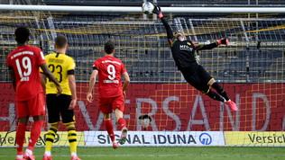 Il Bayern ipoteca il titolo con Kimmich: Dortmund ko e Haaland infortunato
